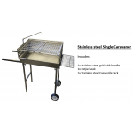 Single caravaner stainless steel
